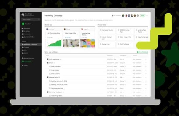 Evernote, herramienta de gestión de ventas
