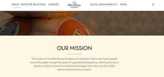 Filosofía de una empresa- Walt Disney