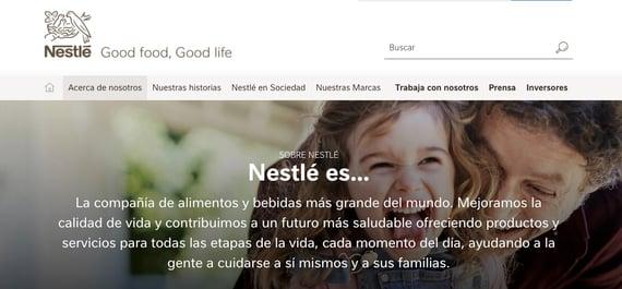 Filosofia de una empresa- Nestlé