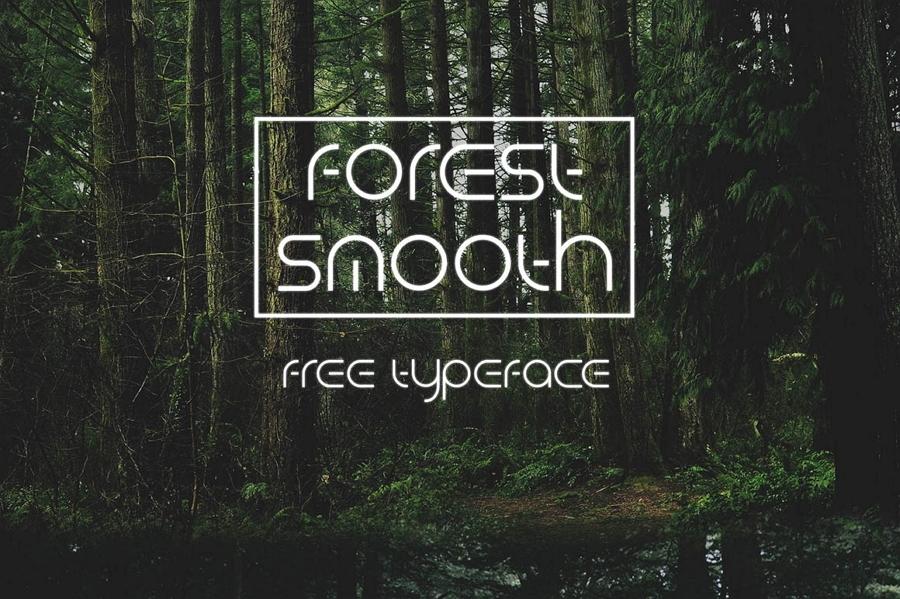 Forest Smooth tipografías  para logos
