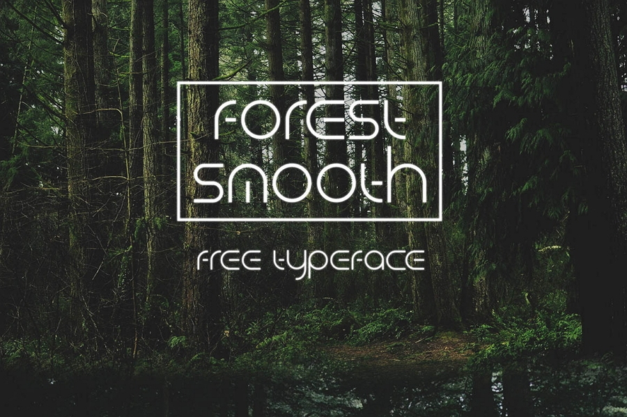 Fuentes para logotipos: Forest Smooth tipografías  para logos