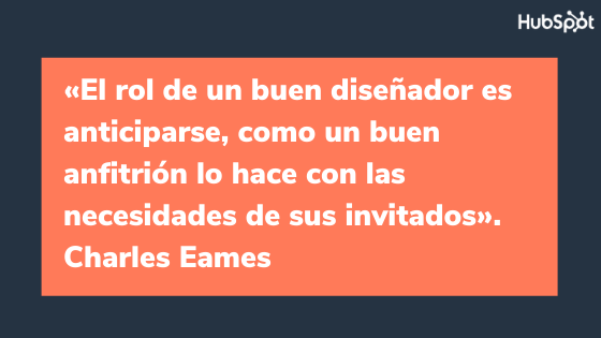 Frase célebre sobre el diseño, de Charles Eames