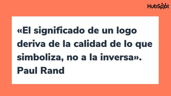 Frase célebre sobre el diseño, de Paul Rand
