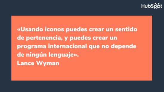 Frase del diseñador gráfico Lance Wyman