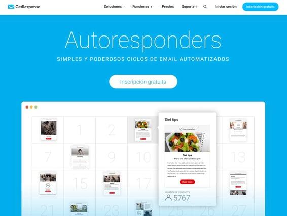 GetResponse- autoresponder de pago