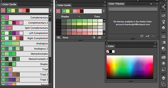 Guía de color de Adobe Illustrator