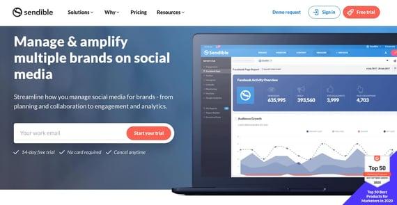 Herramientas de atención a clientes en redes sociales- Sendible