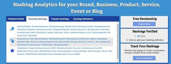 Herramientas de hashtags para Instagram- Hashtag.org