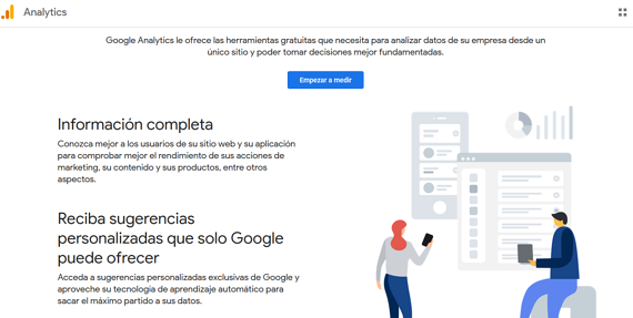 Herramientas de marketing digital- Google Analytics