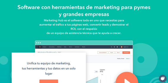 Herramientas de marketing digital- Marketing Hub