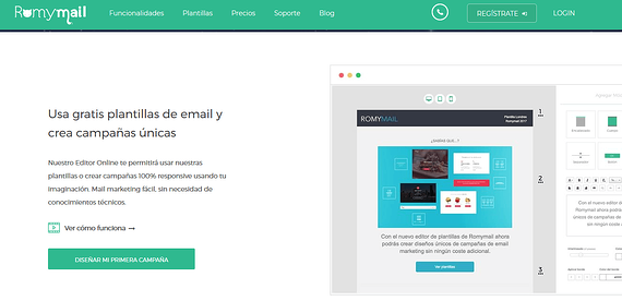 Herramientas de marketing digital- Romymail