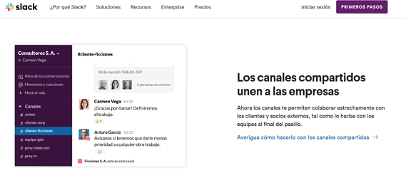 Herramientas de marketing digital- Slack