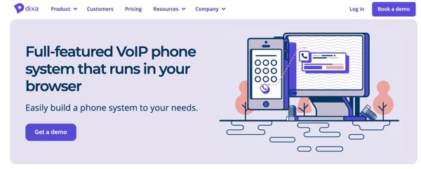 Los mejores software de call center - Dixa