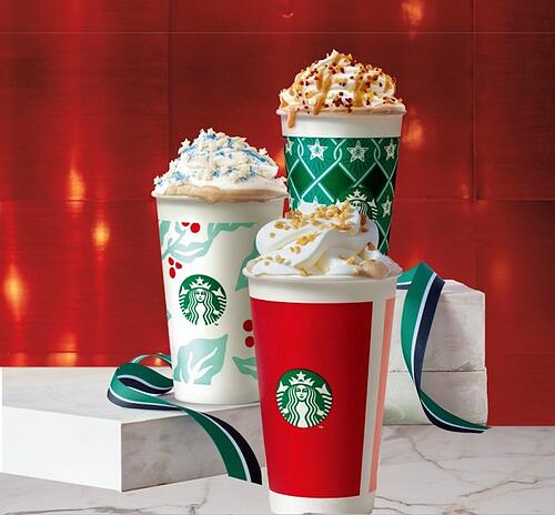 Marketing estacional- campañas de Starbucks