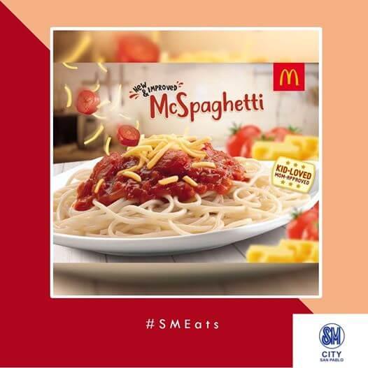 Marketing global de McDonalds en Filipinas- McSpaguetti