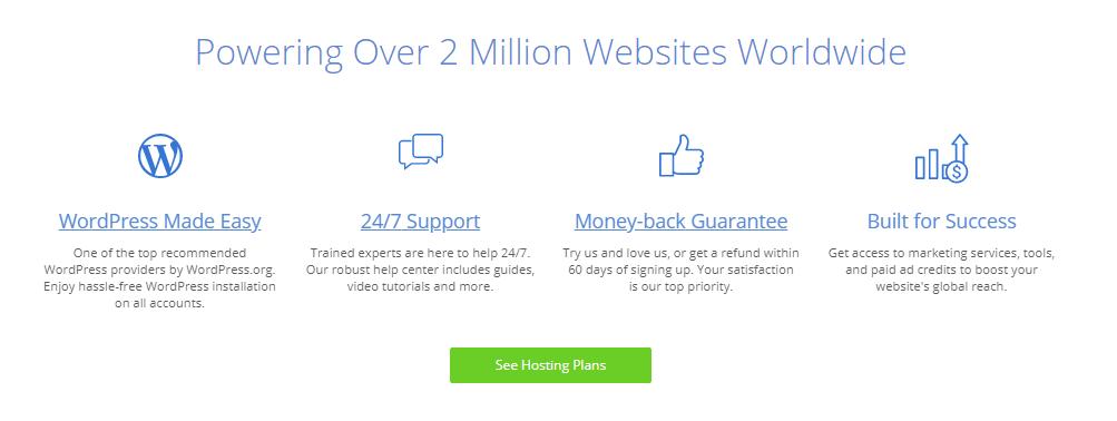 Mejores hosting - Bluehost