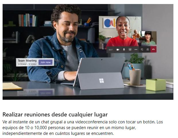 Microsoft Teams, herramienta de productividad y comunicación para vendedores