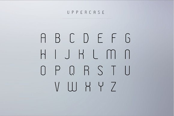 Fuentes para logotipos: Modeka tipografías  para logos