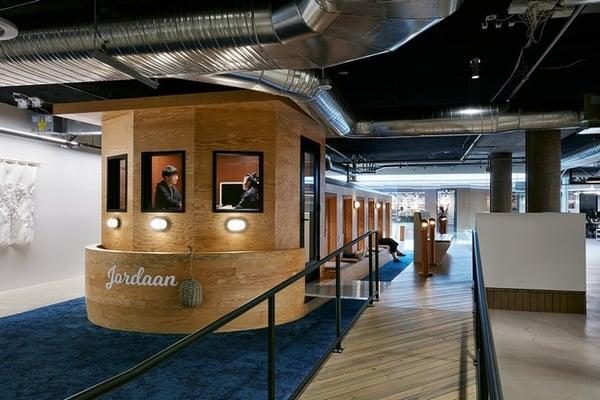 Oficinas creativas de Airbnb