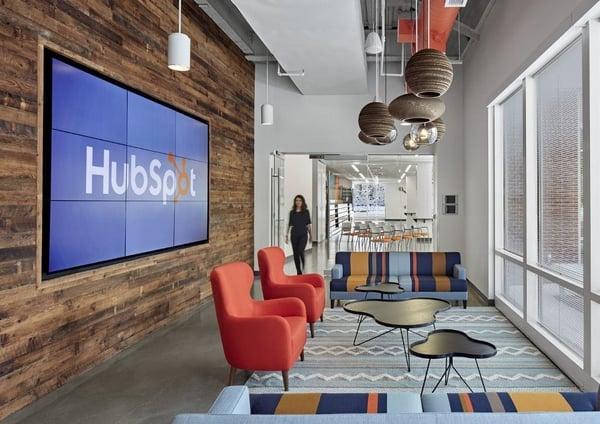Oficinas creativas de HubSpot