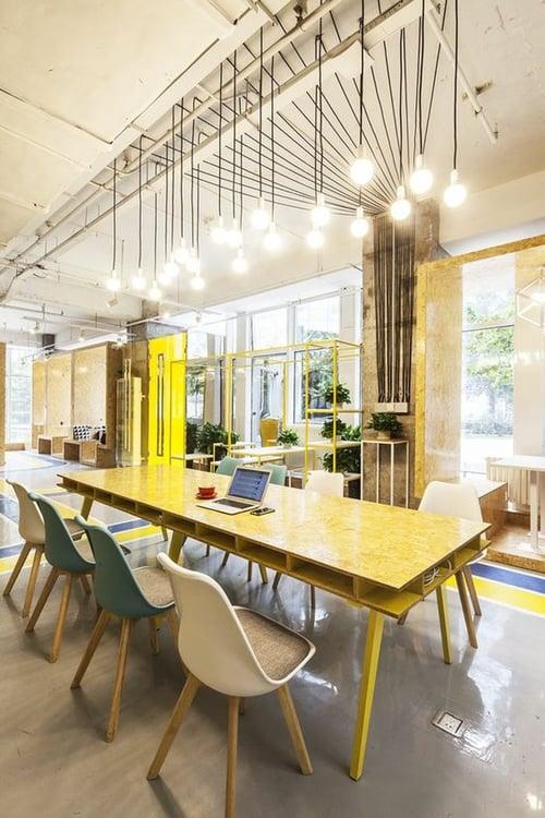 Oficinas creativas del mundo - iluminación