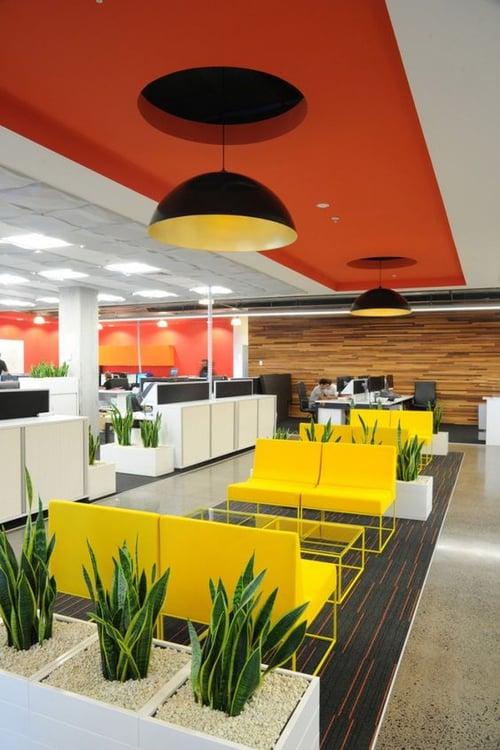 Oficinas creativas del mundo - vegetación
