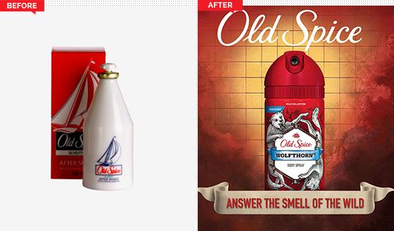 Estrategia de branding Old Spice