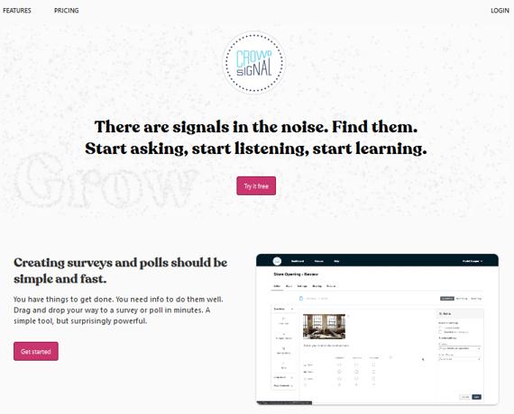 Programa de encuestas online Crowdsignal