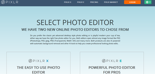 Programas de marketing de contenidos- Pixlr