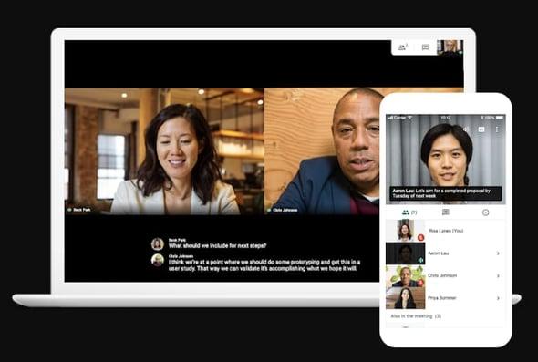 Programas para videoconferencias- Google Meet