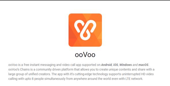 Programas para videoconferencias- ooVoo