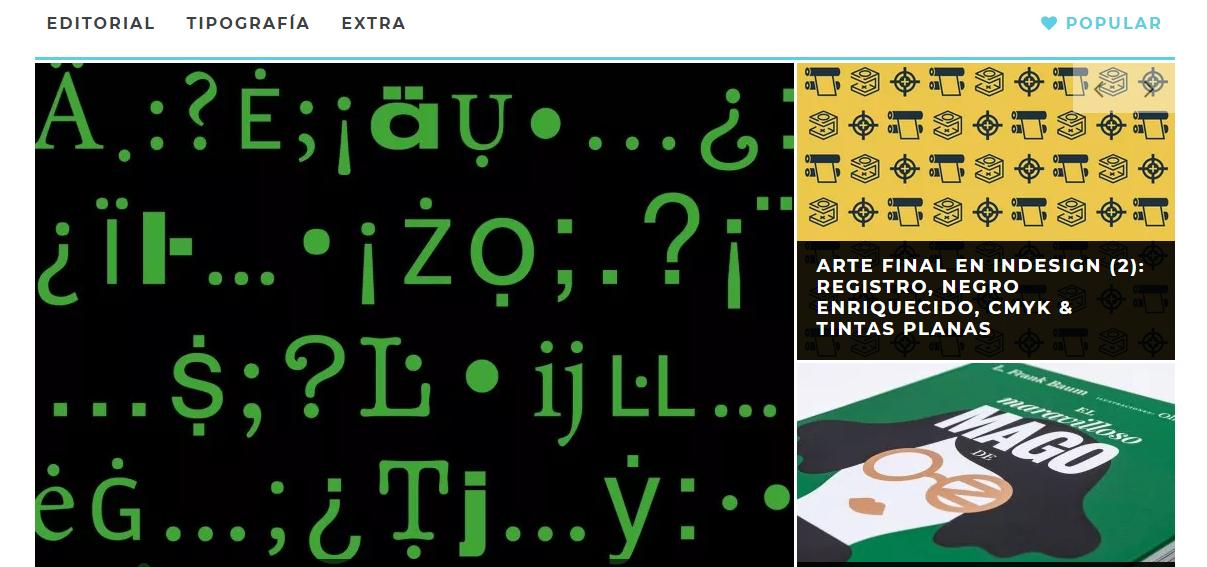 Rayitas Azules blogs de diseño
