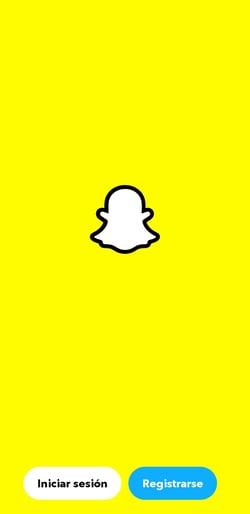 Cómo usar Snapchat: registro en Snapchat