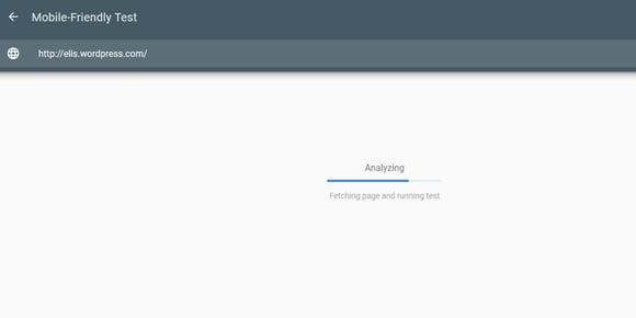 SEO on-page- prueba de optimización para móviles de Google