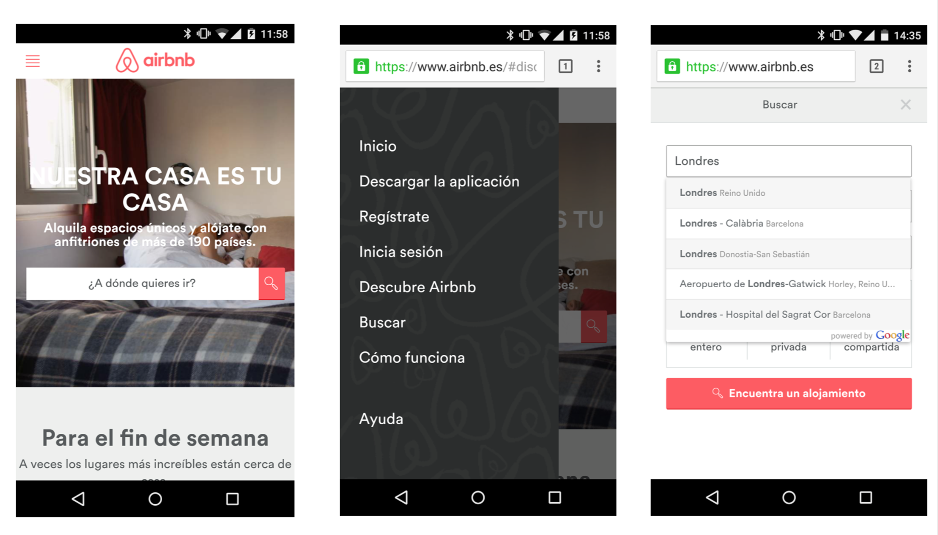 Airbnb-Movil