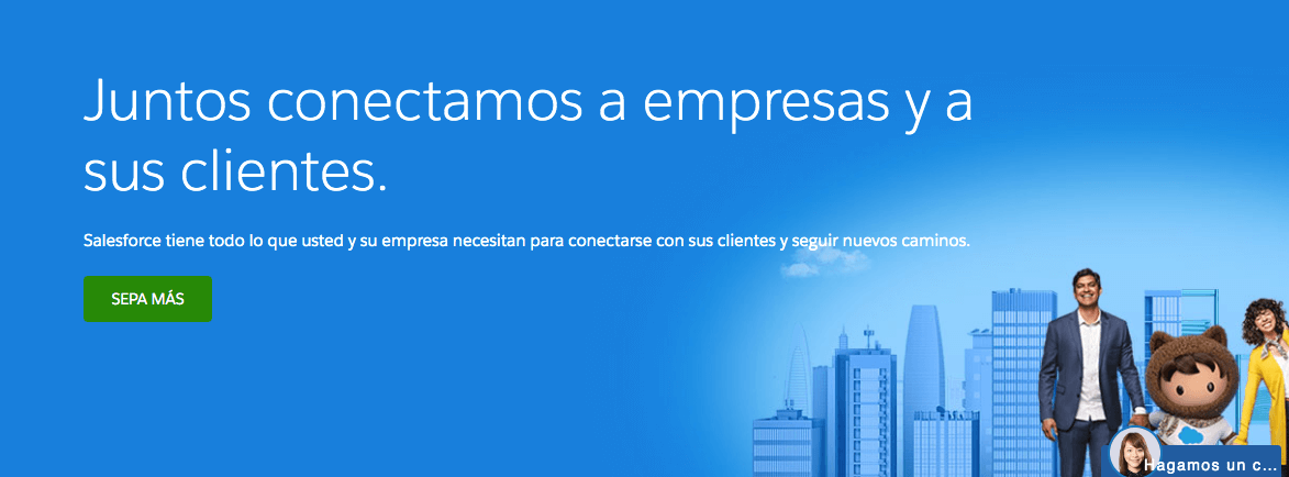 Salesforce, software de ventas