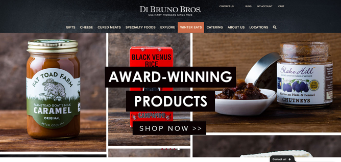 Pagina principal de Di Bruno Bros.png