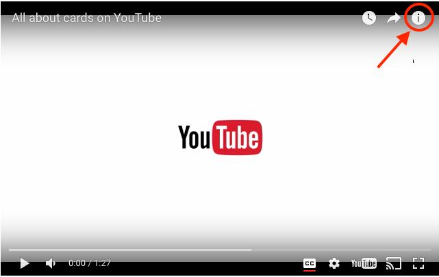 Seo en Youtube a través de las tarjetas