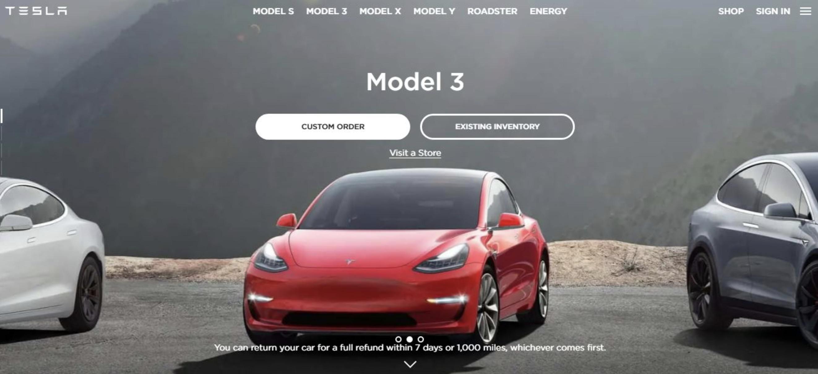 ejemplo de colores web:  Tesla