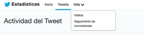 Seguimiento de conversiones en Twitter