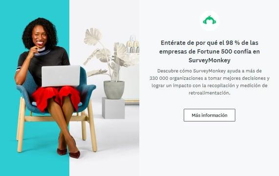 SurveyMonkey, herramienta de productividad en ventas