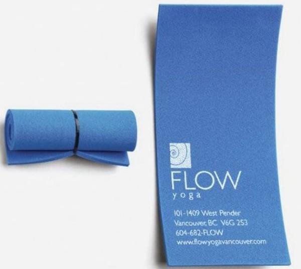 Tarjeta de presentación creativa_ Flow Yoga