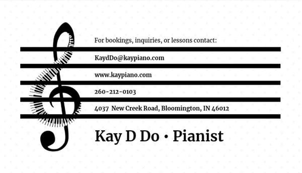 Tarjeta de presentación creativa_ Kay D Do
