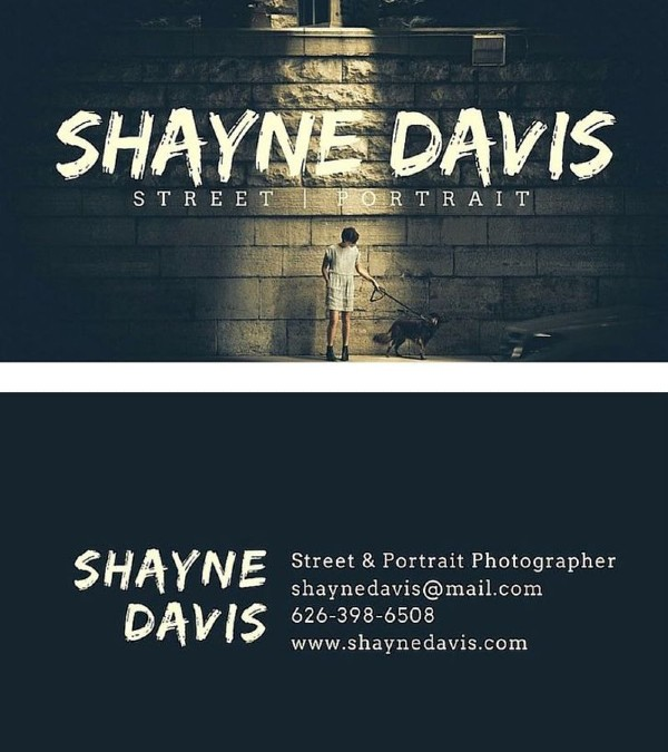 Tarjeta de presentación creativa_ Shayne Davis