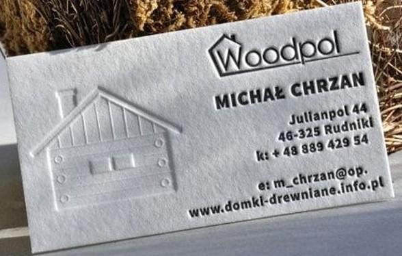Tarjeta de presentación creativa_ Woodpol