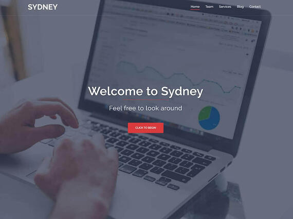 Tema Sydney de WordPress para causar impacto