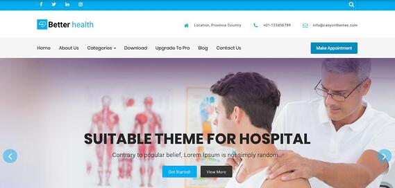 Tema de Wordpress Better Health