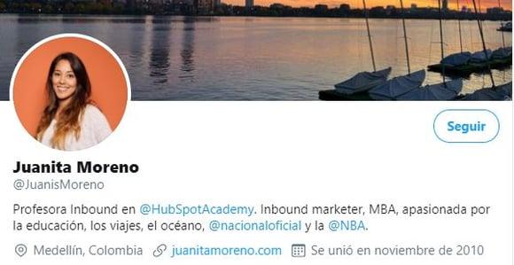 Twitter optimizado para social selling de @JuanisMoreno
