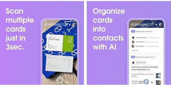 Wantedly People, herramienta de escaneo de tarjetas de presentación para ventas