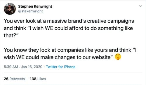 Stephen Kenwright tweet
